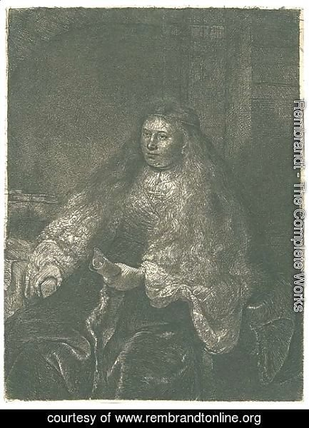 Rembrandt - The great Jewish Bride 3