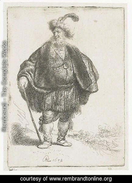 Rembrandt - The Persian