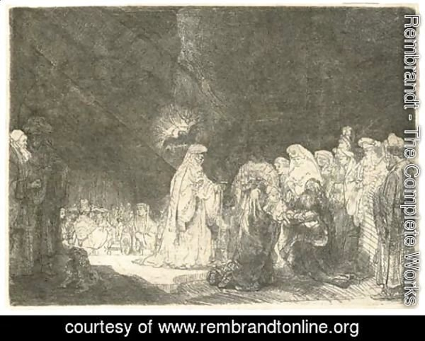 Rembrandt - The Presentation in the Temple