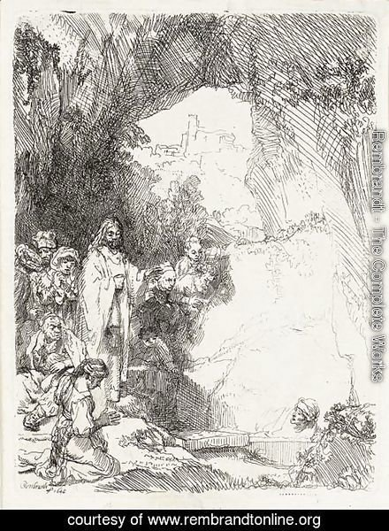 The Raising of Lazarus Small Plate 2