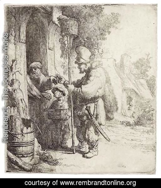 Rembrandt - The Rat Catcher
