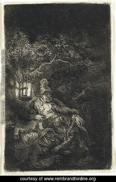 The Rest on the Flight into Egypt A Night Piece