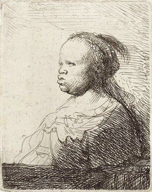 Rembrandt - The White Negress