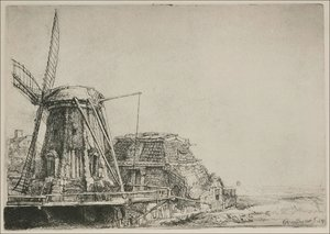 Rembrandt - The Windmill