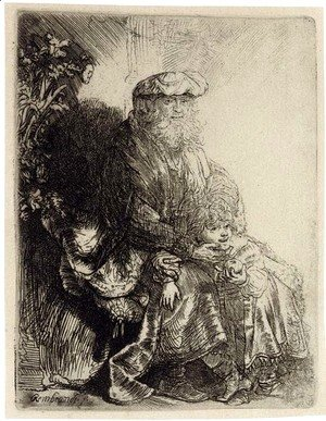 Rembrandt - Three late Impressions 2