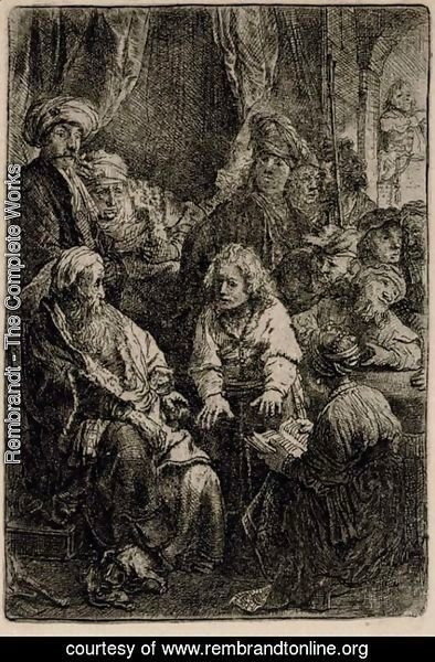 Rembrandt - Three late Impressions 3