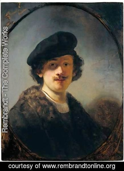 Rembrandt - Self-Portrait With Shaded Eyes