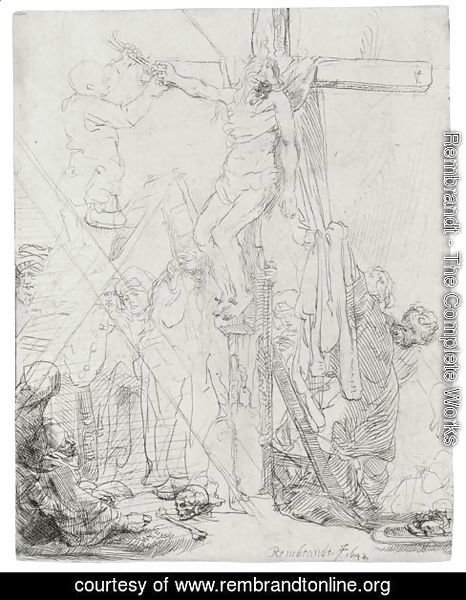 Descent From The Cross A Sketch