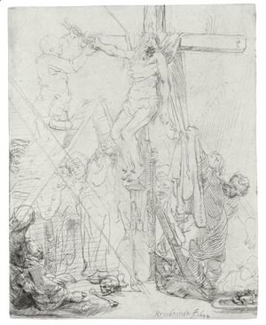 Rembrandt - Descent From The Cross A Sketch