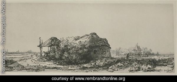 Landscape With A Cottage And Haybarn