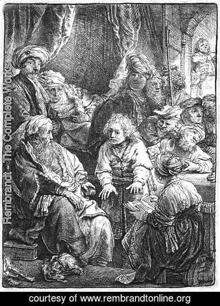 Rembrandt - Joseph Telling His Dreams