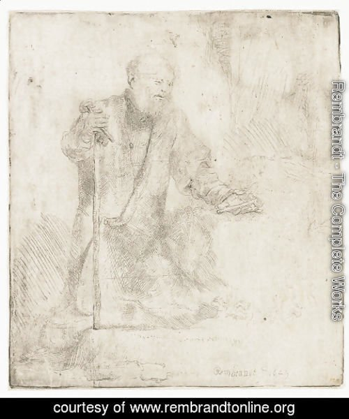 Rembrandt - St. Peter In Penitence