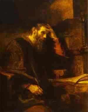 Rembrandt - The Apostle Paul