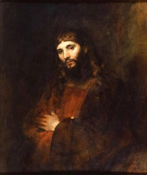 Rembrandt - Christ With Folded Arms