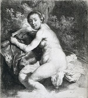 Rembrandt - Diana At The Bath 2