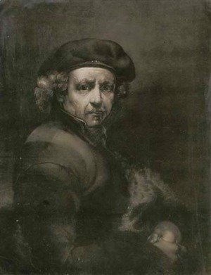 Rembrandt - Rembrandt [Self Portrait], by Richard Earlom