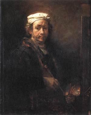 Rembrandt - Self Portrait 11