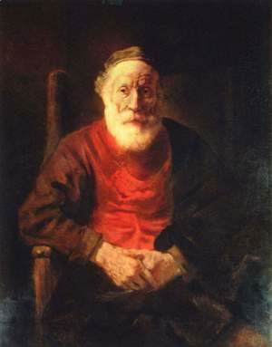 Rembrandt - Old man in the armchair