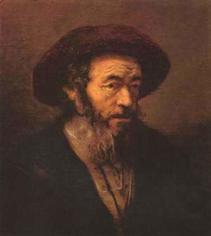Rembrandt - Man with a beard