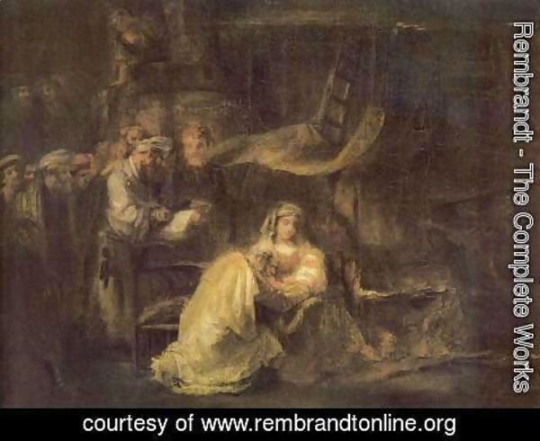 Rembrandt - Circumcision of Christ