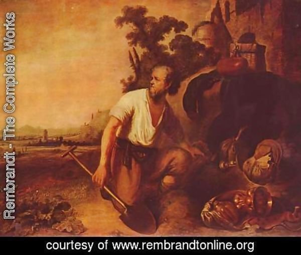 Rembrandt - The parable of the treasure hunter
