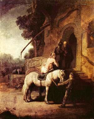Rembrandt - The Merciful Samaritan