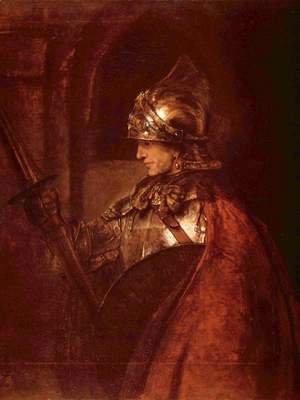 Rembrandt - Man with arms (Alexander the Great)