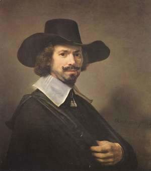 Rembrandt - Portrait of the painter Hendrik Martensz. Sorgh.