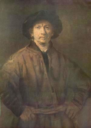 Rembrandt - Self Portrait 12