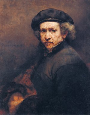 Rembrandt - Self Portrait 15