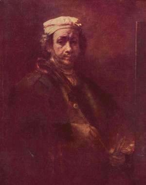 Rembrandt - Self Portrait 17