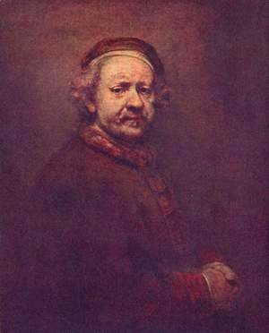 Rembrandt - Self Portrait 18