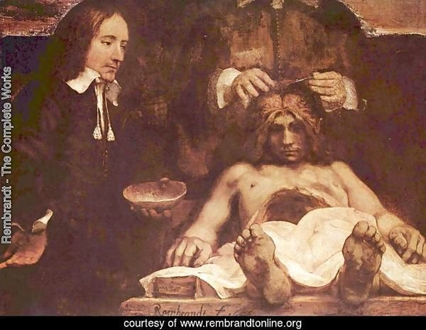 The anatomy lesson of Dr. Joan Deyman (or Dr. Jan Deijman)