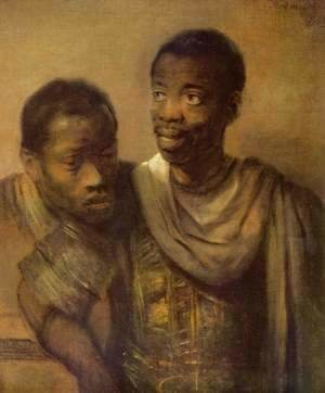 Rembrandt - Two young Africans