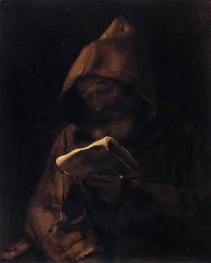 Franciscan Monk Reading