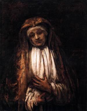 Rembrandt - Virgin of Sorrows