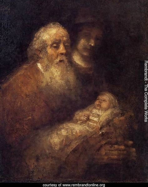 Simeon with the Infant Jesus in the Temple