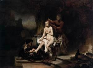 Rembrandt - The Toilet of Bathsheba