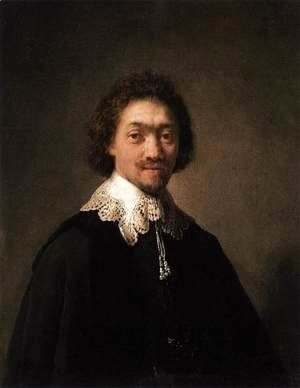 Rembrandt - Maurits Huygens, Secretary of the Council of State