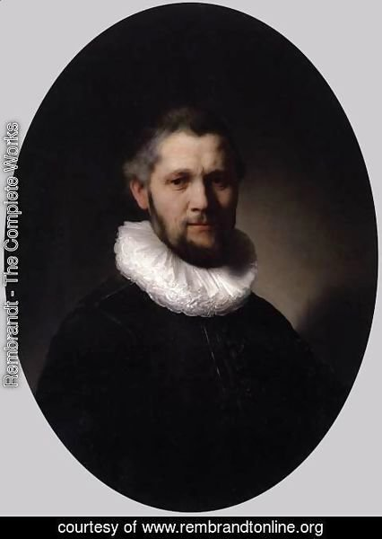 Rembrandt - Portrait of a Man 2