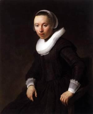 Rembrandt - Portrait of a Young Woman 2