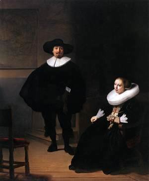 Jan Pietersz. Bruyningh, and His Wife Hillegont Pietersdr. Moutmaker