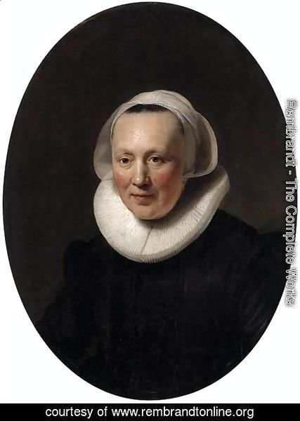 Rembrandt - Portrait of a Woman 2