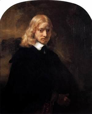 Rembrandt - Portrait of a Blonde Youth