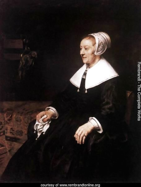 Portrait of Catharina Hooghsaet