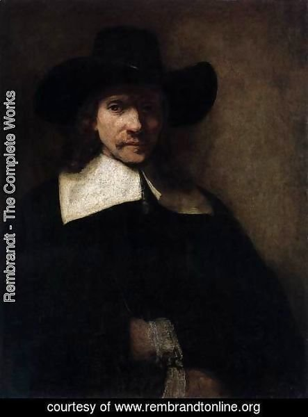 Rembrandt - Portrait of a Man 3