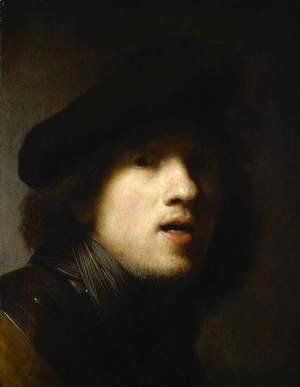 Rembrandt - Self-Portrait 21