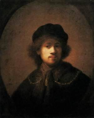 Rembrandt - Self-Portrait 22