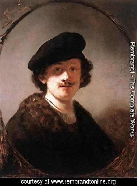 Rembrandt - Self-Portrait 23