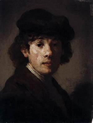 Rembrandt - Rembrandt as a Young Man